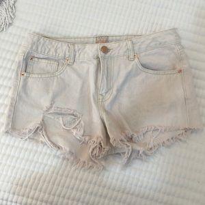 GB Jean shorts
